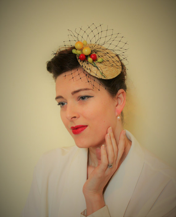 Fascinator hat from BebopBoutiqueuk
