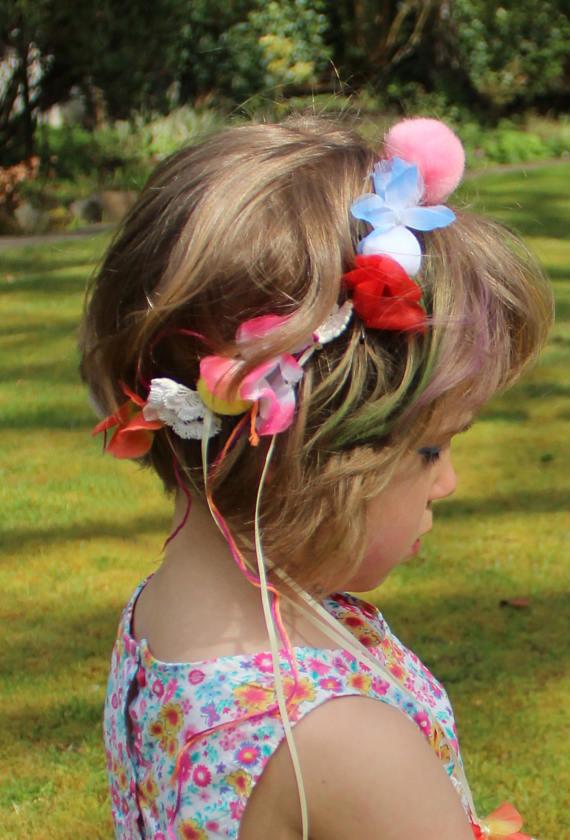 kids summer headdress