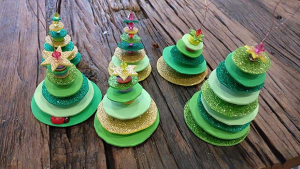 Foam Christmas Tree Decoration