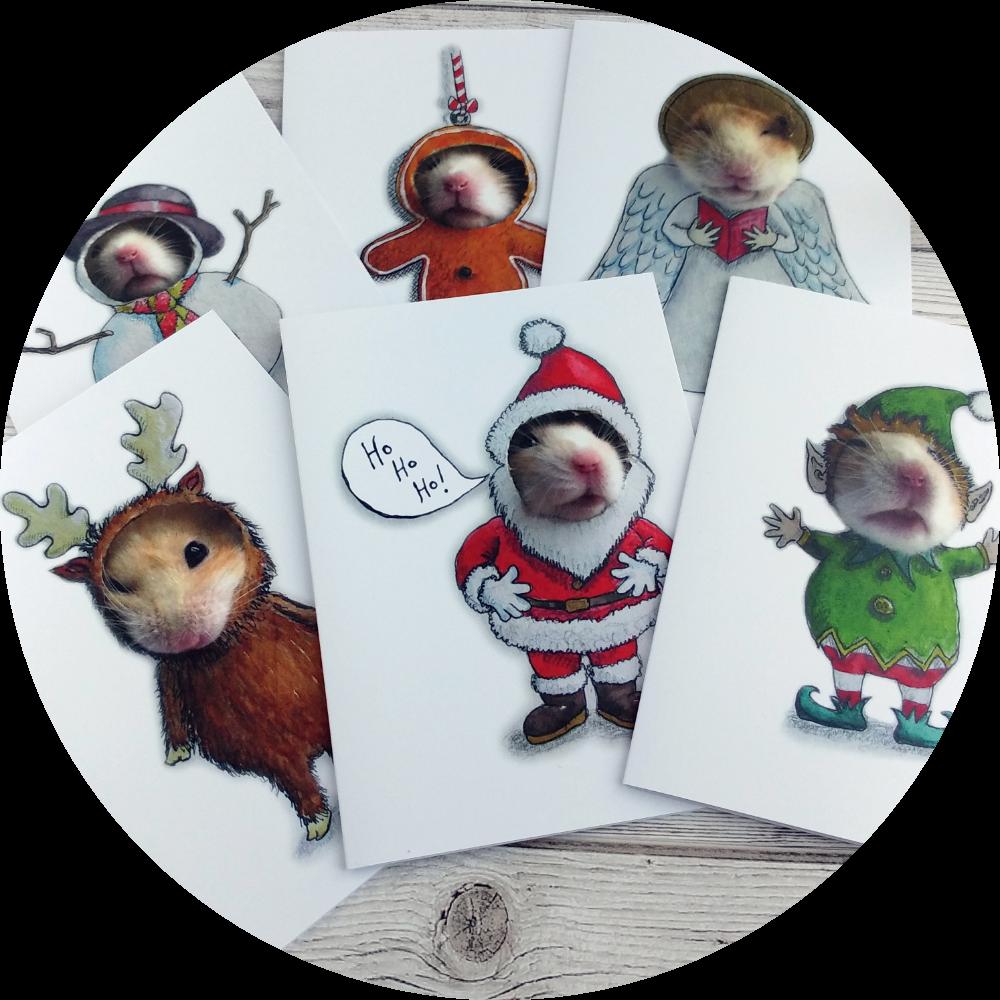 Mythological - hamster cards